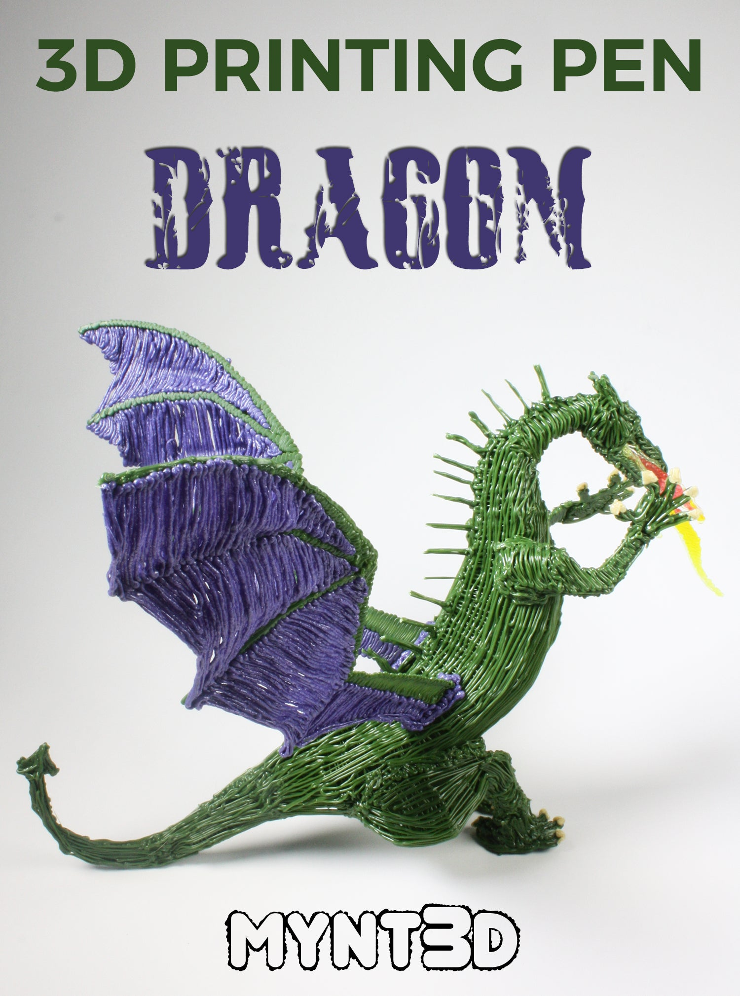 How to Make a 3D Pen Dragon