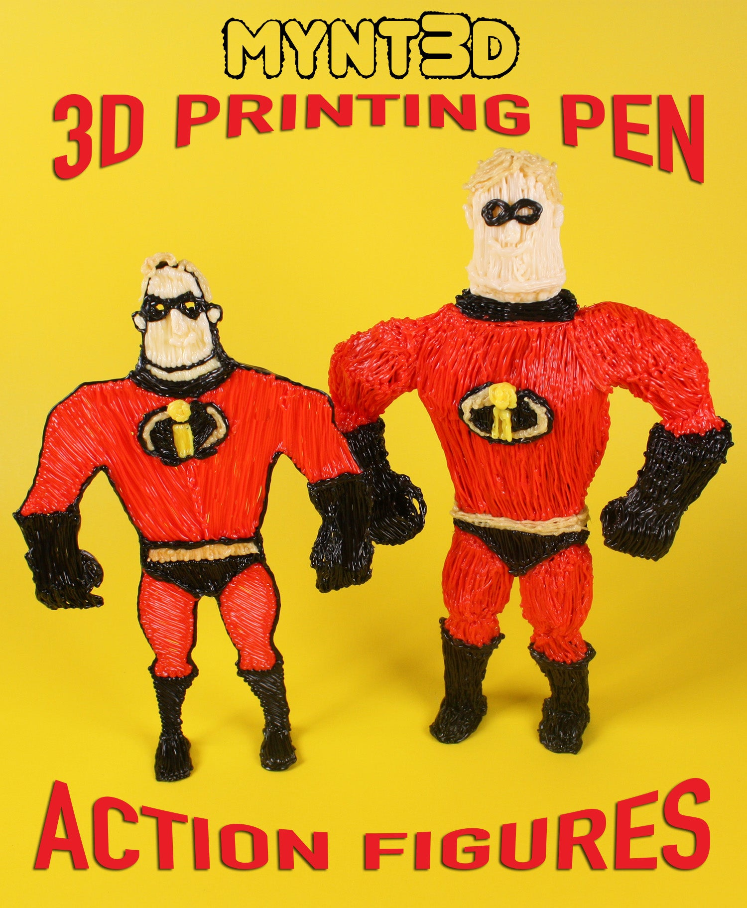 Action Figures 3D Pen Tutorial