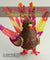 3D Pen Template: Turkey and Feathers