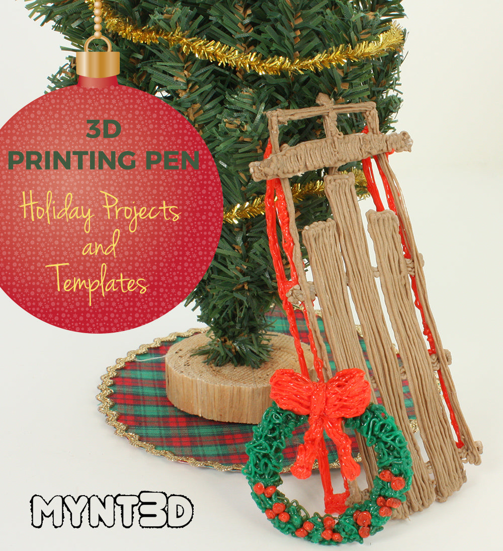 3D Pen Holiday DIY Crafts