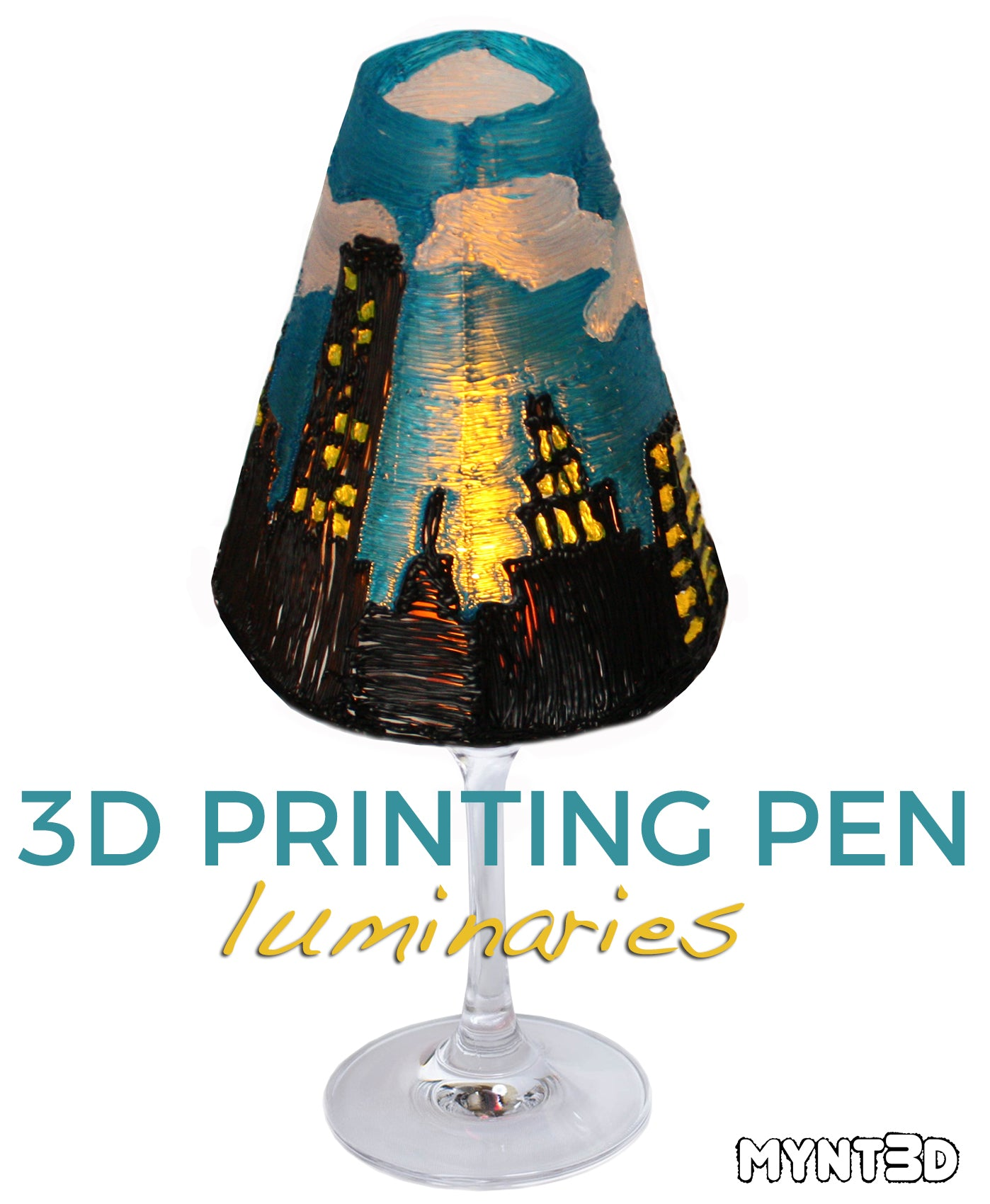 3D Printing Pen Luminaries