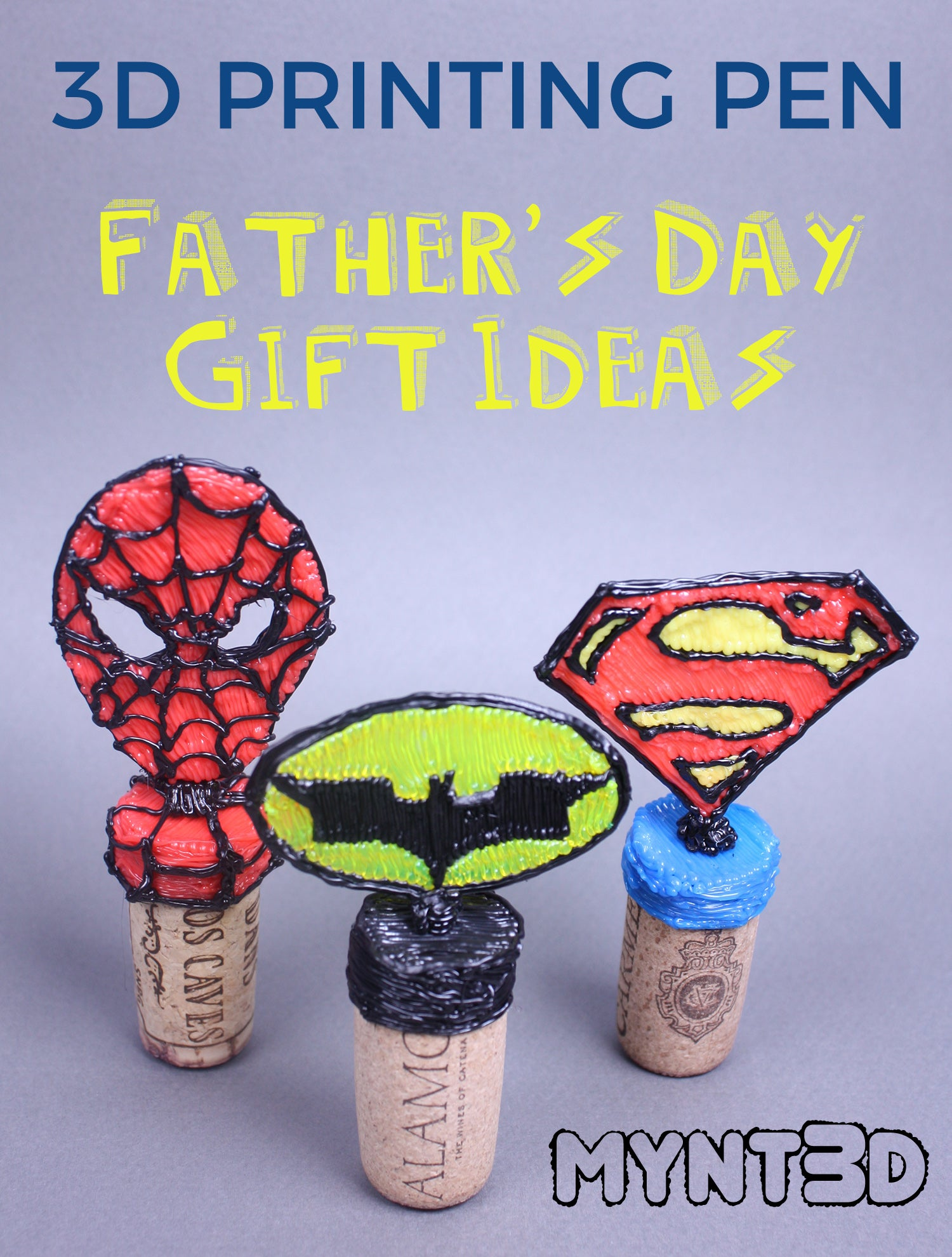 Father's Day Gift Ideas made with a 3D Pen