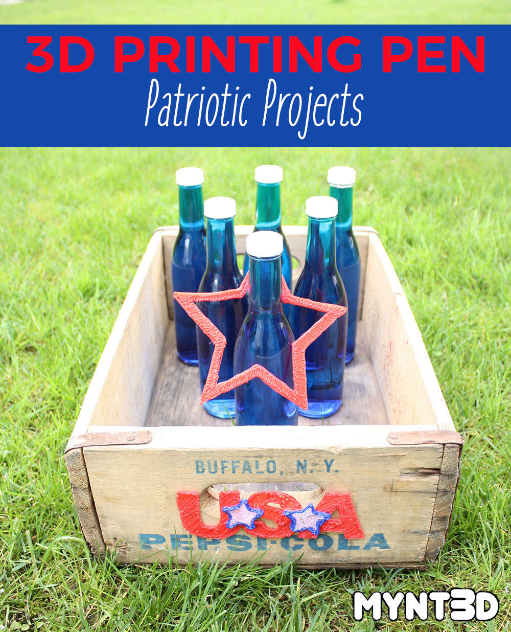 Patriotic Projects Made with a 3D Printing Pen