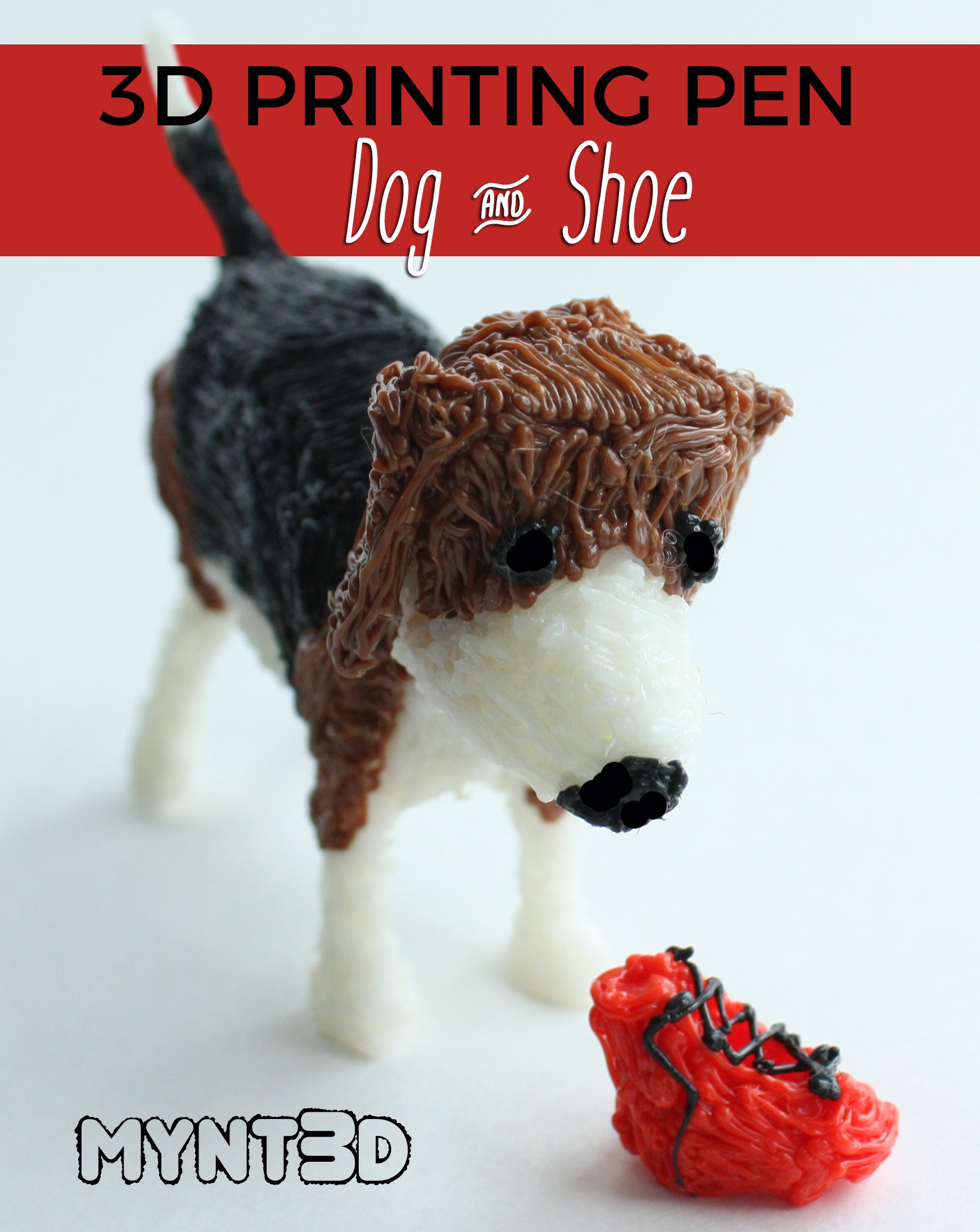 How to Make a Dog with a 3D Pen