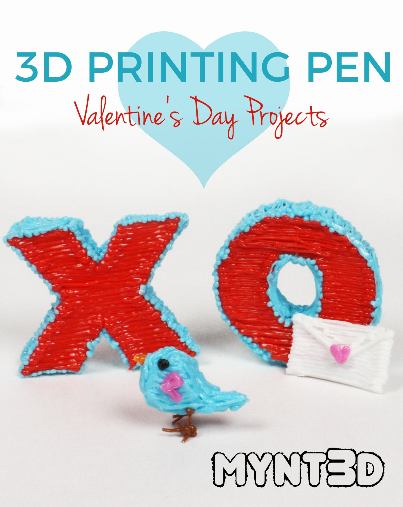 4 Valentine's Day Projects to Make with a 3D Pen