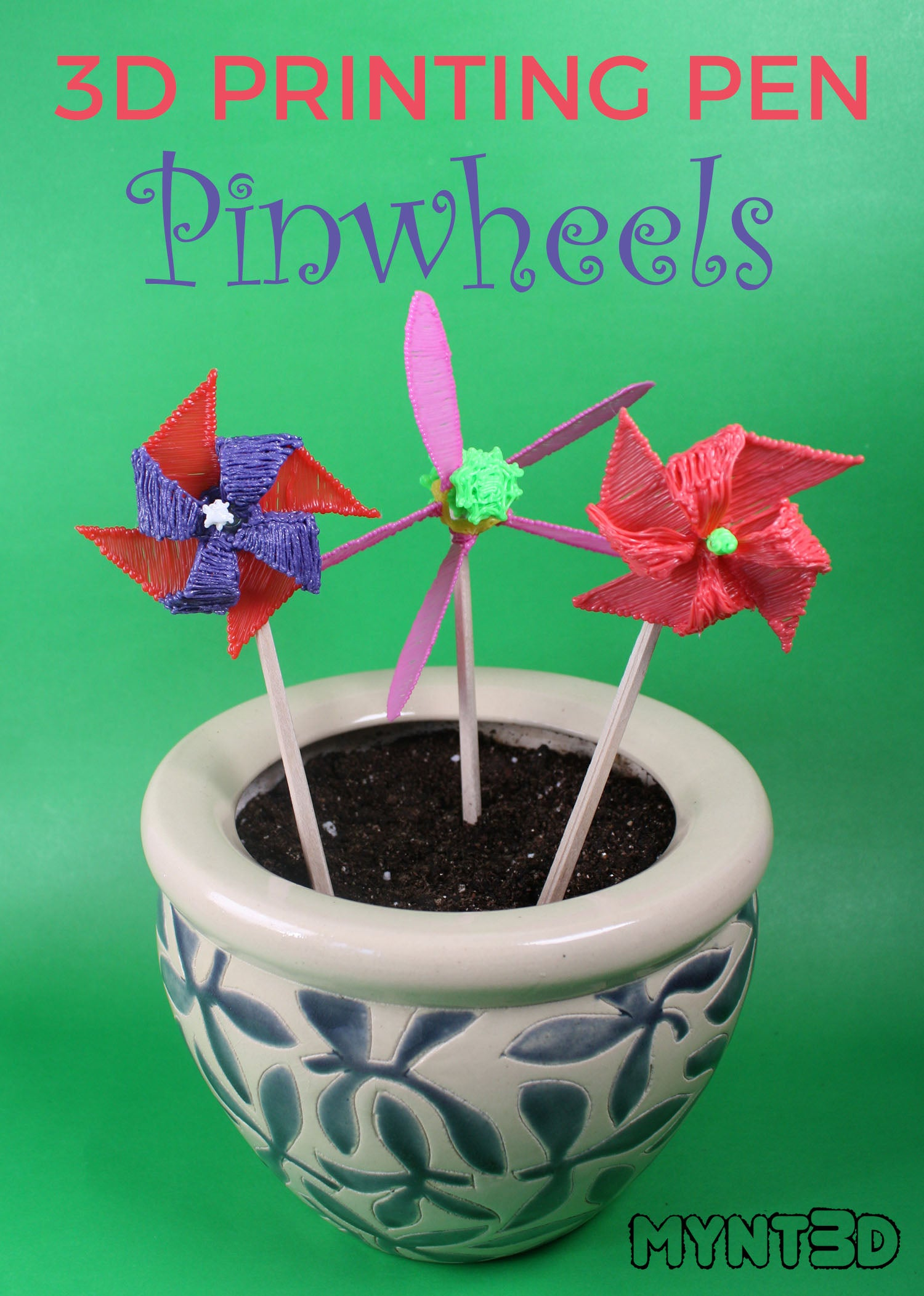 How to Make a Pinwheel with a 3D Pen