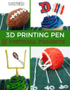 6 Football Themed 3D Pen Projects