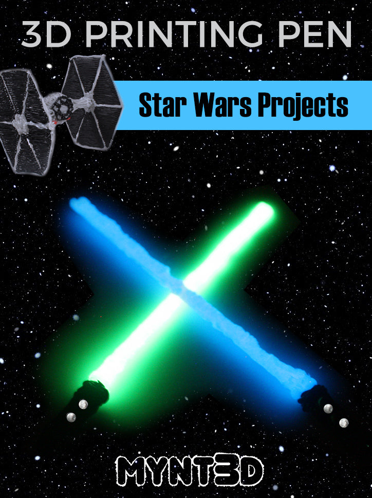 star wars 3d printing pen projects