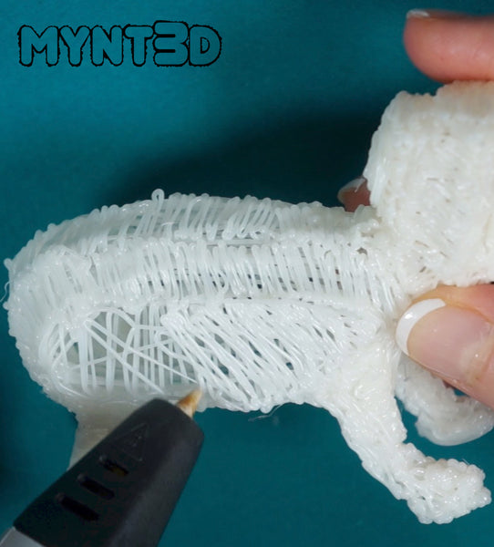 Learn how to make a puppy dog using the MYNT3D printing pen. Easy, fun gift for hours of creativity and no screen time. Technology without the screen.