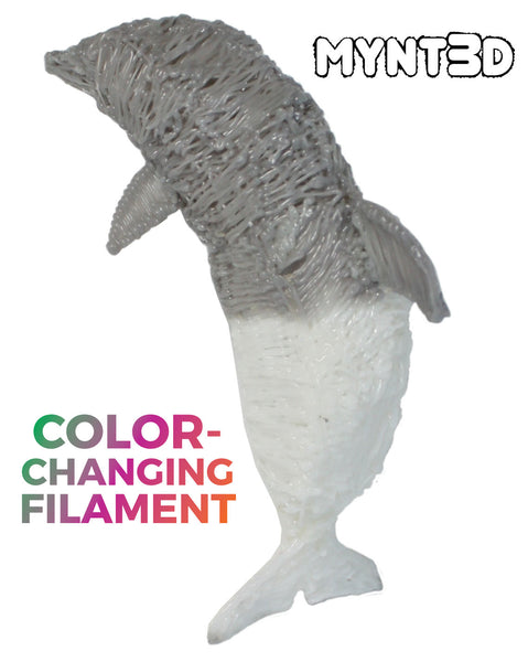 3D printing pen ABS filament that changes color due to temperature and light. New from MYNT3D get project ideas makes the best gift for middle school boys and girls