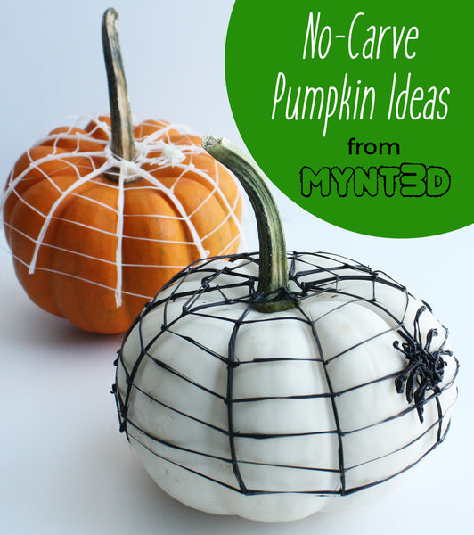 Halloween safety tips for kids and adults | no carve pumpkins craft ideas | 3D printing pen projects for Fall