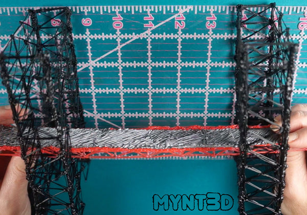 Best STEAM project ideas from MYNT3D | make a suspension bridge with a 3D printing pen | draw, design, measure, test