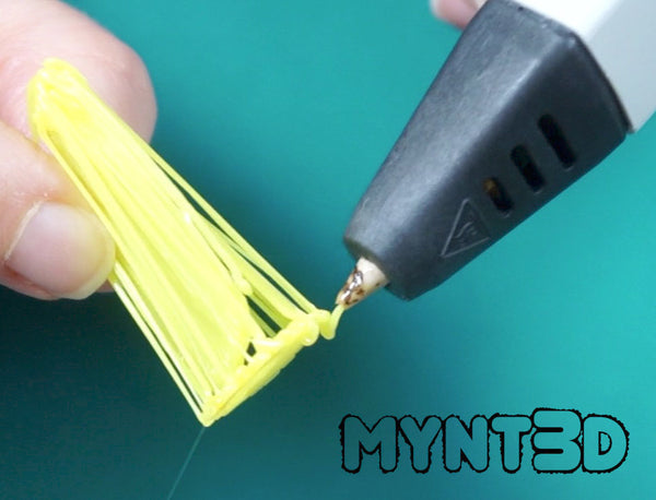 How to make Pokemon Go Pikachu with the MYNT3D 3D printing pen | get the free project template, instructions and video tutorial