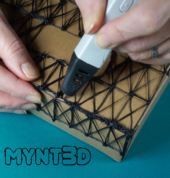 Learn how to make a 3D suspension bridge from MYNT3D