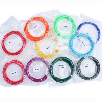 PLA Filament Refill 32 Pack (32 colors, 10m each)