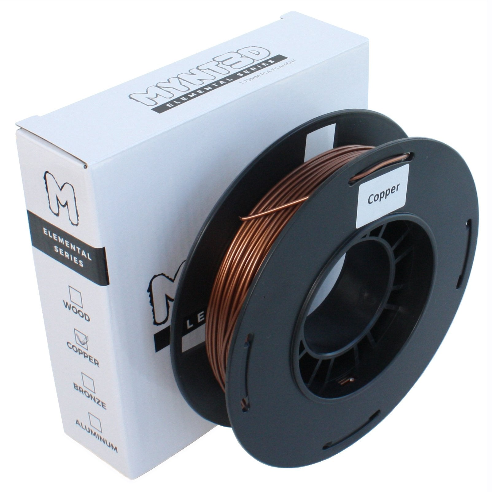 200g Copper PLA Filament Spool