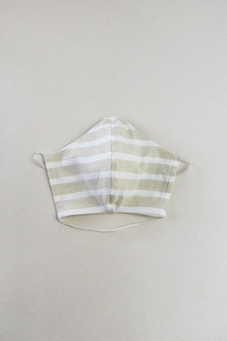 organic cotton face mask, white, natural, cotton, undyed and chemical free