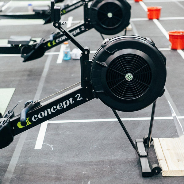 Used-Concept 2 Model D Rower-PM5 [Black]