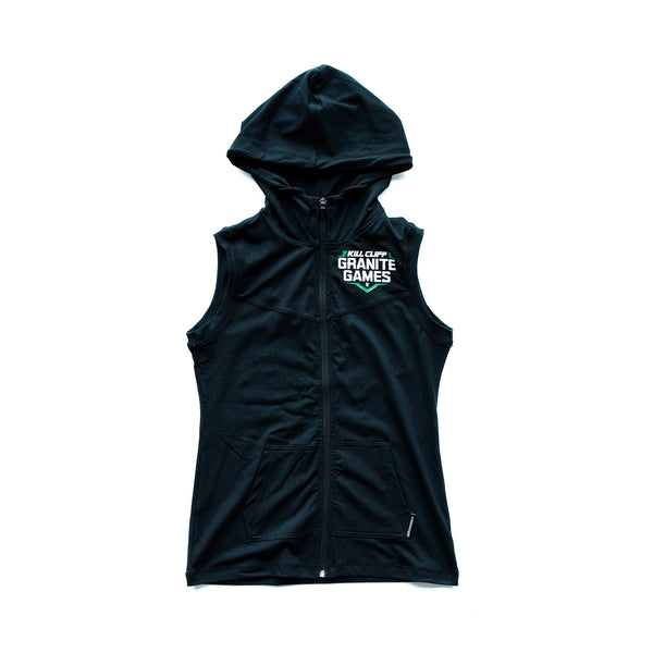 Granite Games Sleeveless Hoodie