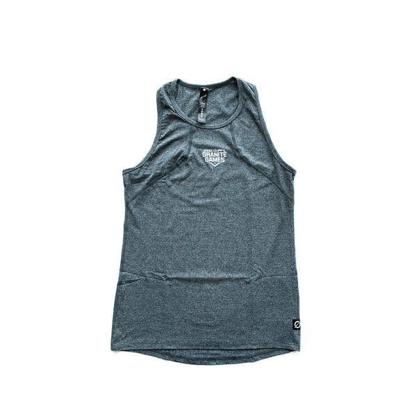 KCGG Women's Gray Muscle Tank