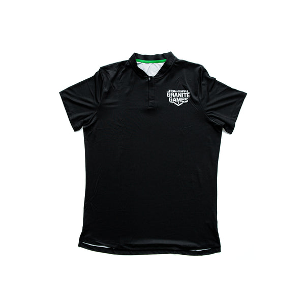 Black Men's Polo