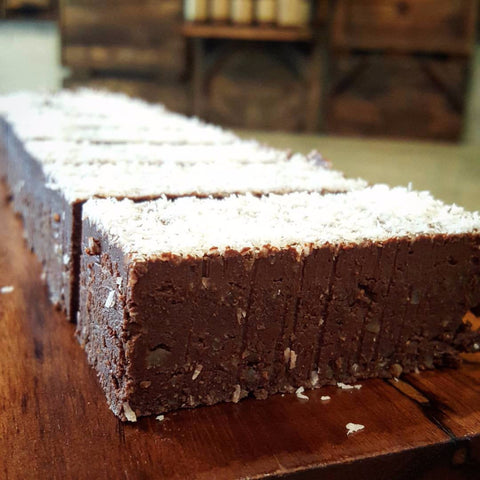 Chocolate Brownie Cake - Raw Trader Cafe