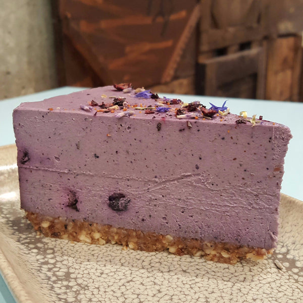 Blueberry and Lavender - Raw Trader Cafe - 1