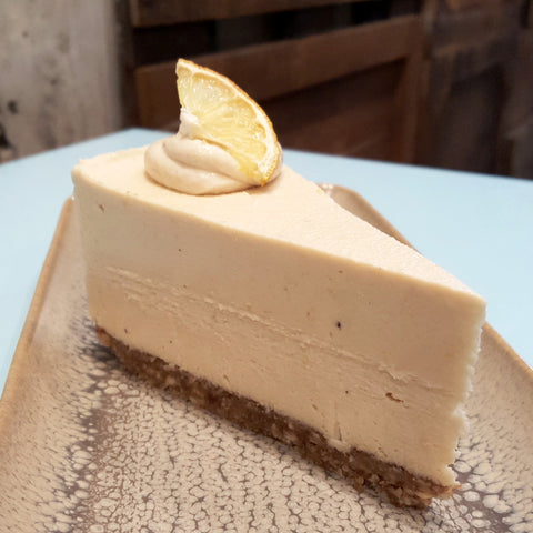 Lemon Cheesecake - Raw Trader Cafe