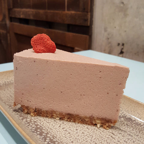 Strawberry Cheesecake - Raw Trader Cafe
