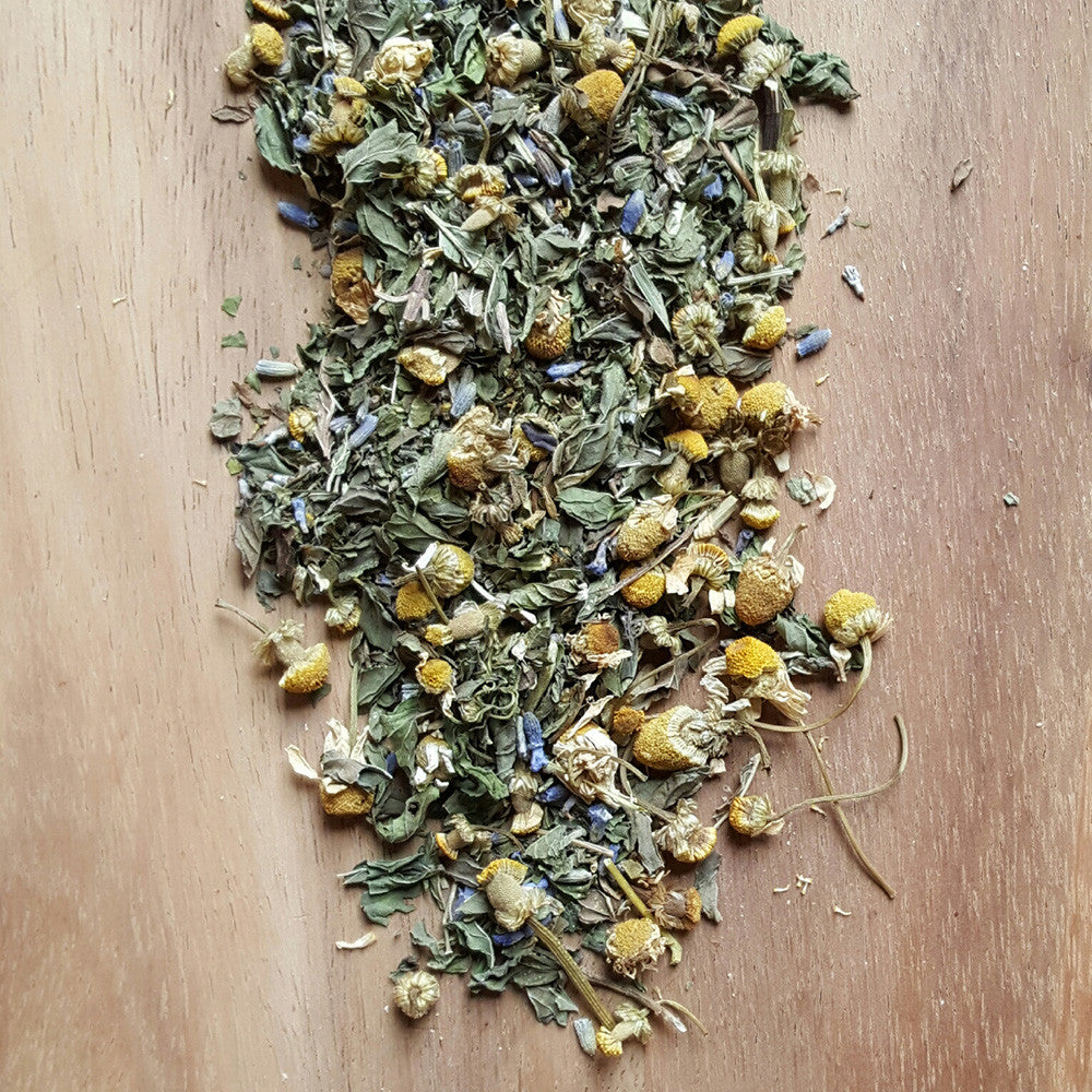 Calming Herbal Tea - Raw Trader Cafe