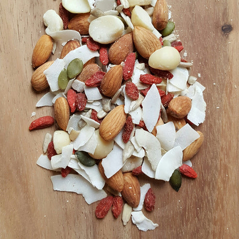 Complexion Fruit & Nut Mix - Raw Trader Cafe - 1