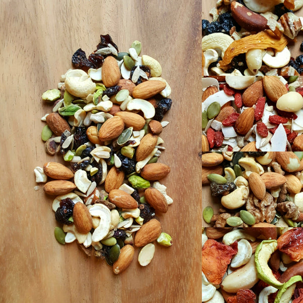 Mixed Fruit & Nuts Snack Packs