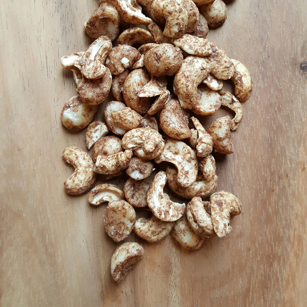 Maple Cinnamon Nuts - Raw Trader Cafe