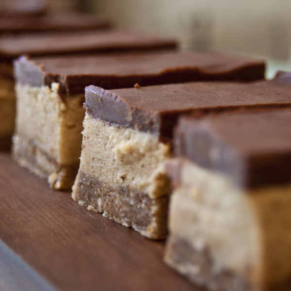 Caramel Slice Cake - Raw Trader Cafe