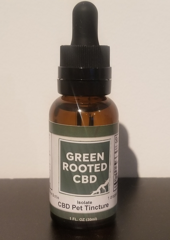 Green Rooted CBD Pet Tincture 300mg