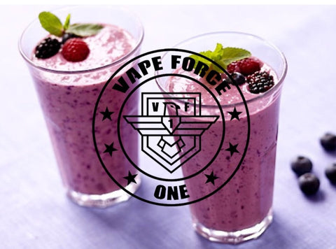 Grid Squares (Mixed Berry Smoothie)