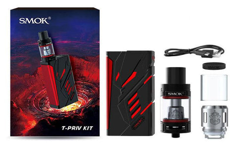 SMOK T-Priv Kit (Black/Red)