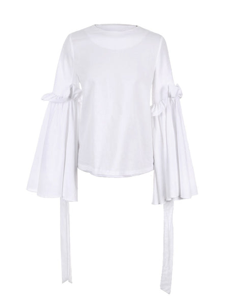 Fabrice Flare Sleeves Blouse