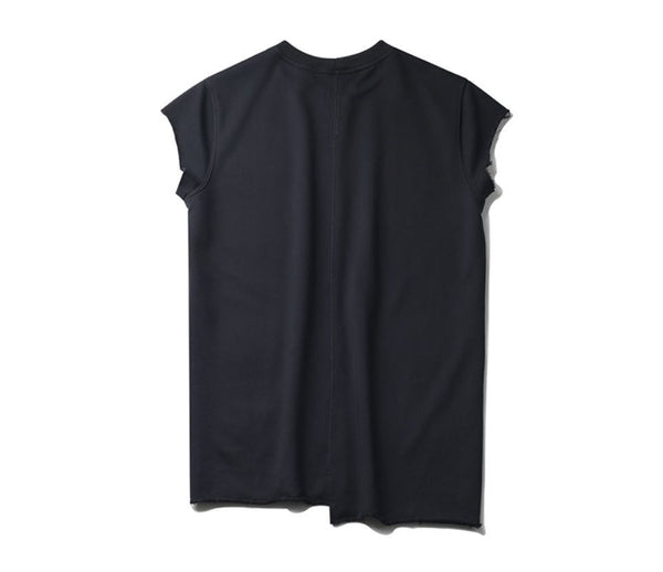 Black Cotton jersey Tee