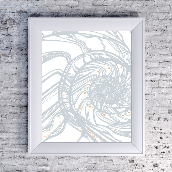Ammonite - Art Print