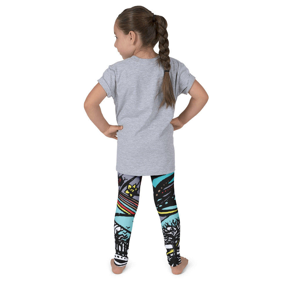 Wave Children's Leggings