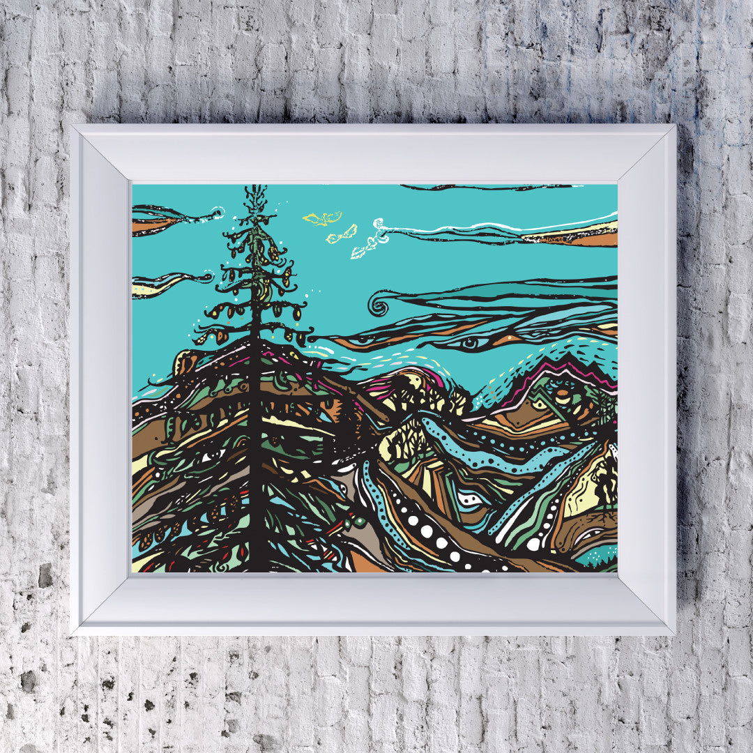 Mountain Medicine - Art Print