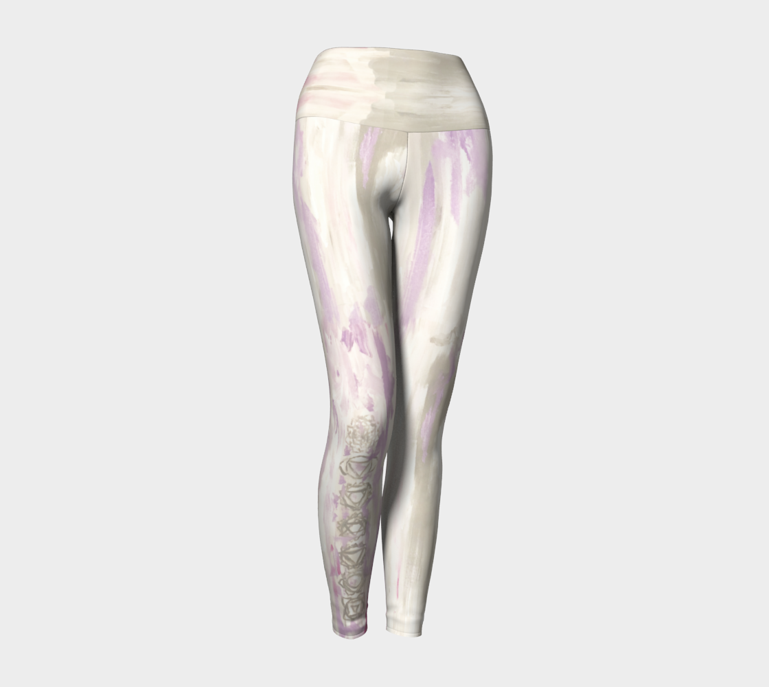 Chakra Painting Yoga Leggings