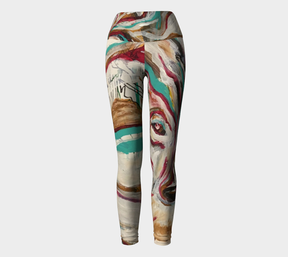Wolf Yoga Leggings