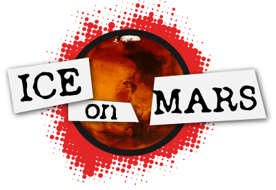 Ice on Mars logo