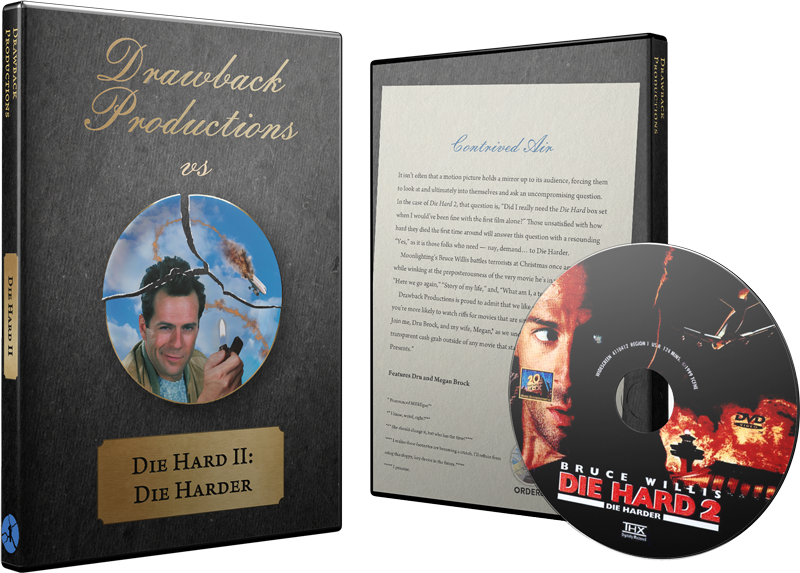 Die Hard 2 DVD w/ Custom Case