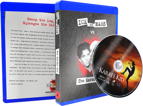 Karate Kid, The (1984) Blu-ray w/ Custom Case