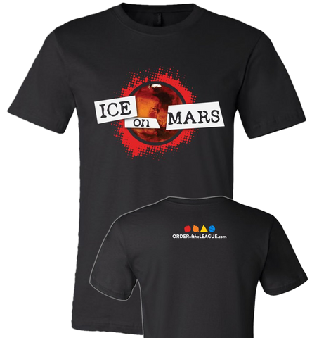 Ice On Mars Logo Tee