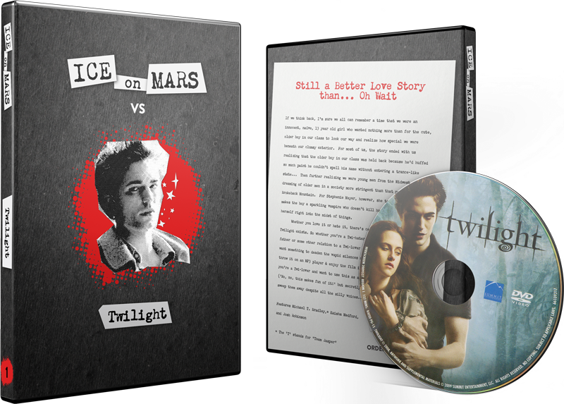 Twilight DVD w/ Custom Case