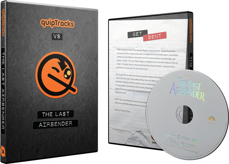 Last Airbender, The (2010) DVD w/ Custom Case
